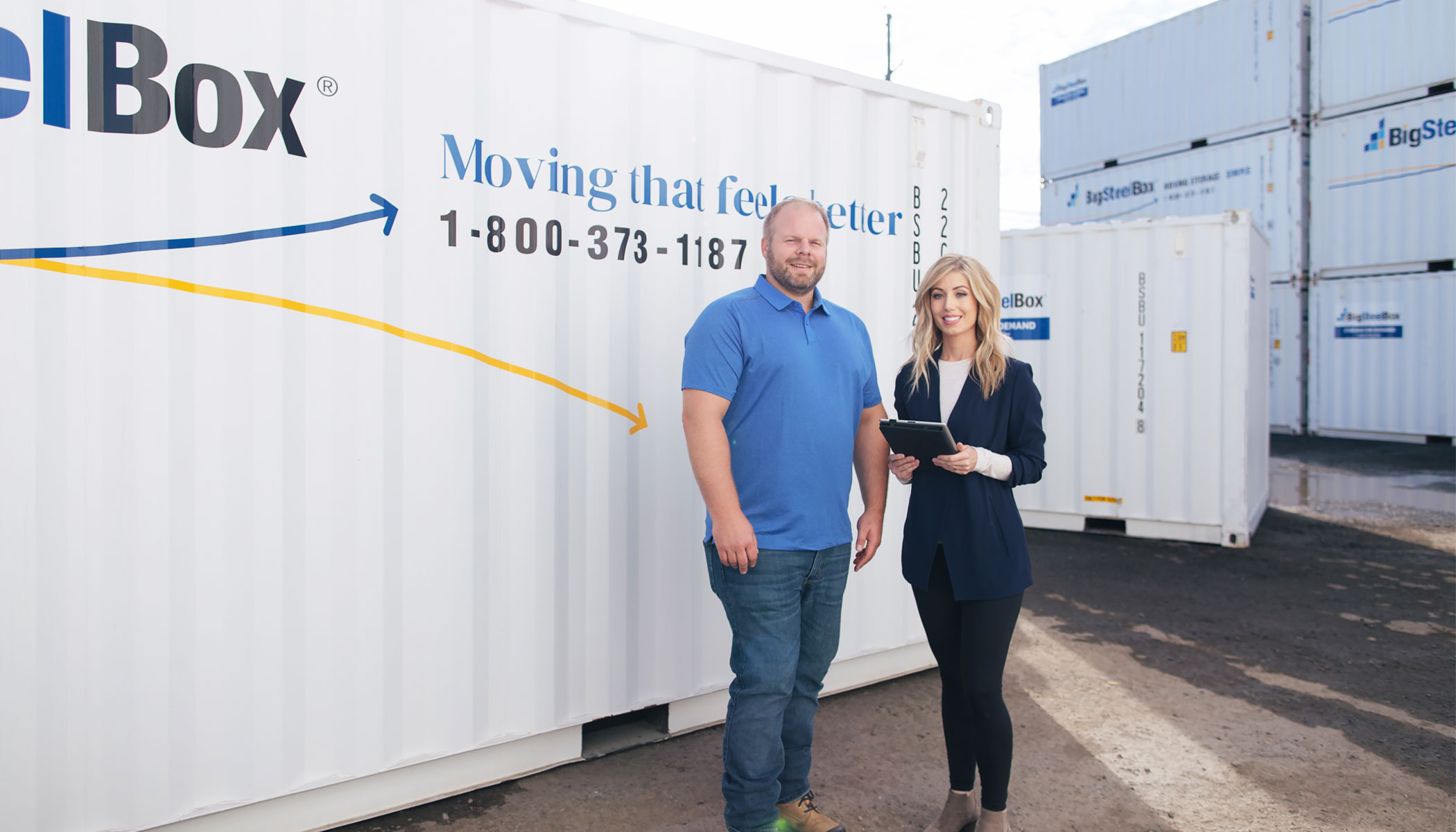 BigSteelBox Staff - how to compare moving quotes